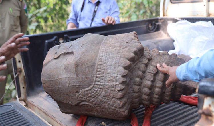 В Камбодже обнаружена древняя статуя «создателя мира»