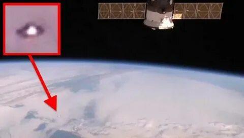 Камера МКС снова запечатлела НЛО, но ученые этот момент упустили