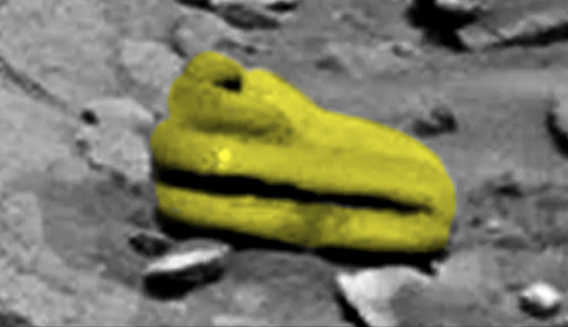 Уфолог обнаружил на Марсе «древний артефакт»