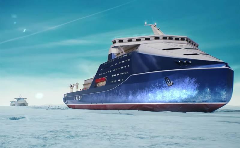 Первый атомный ледокол «Лидер» Россия получит в 2027 году