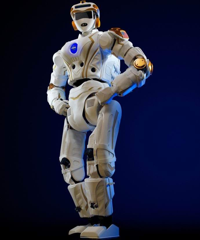 Изобретен человекоподобный робот для полета на Марс (2 фото + видео)
