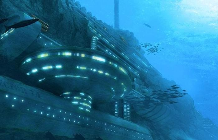 Тайные апокалиптические убежища мировой элиты в океане