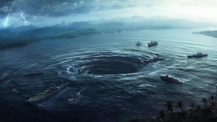 Гигантский морской водоворот до смерти напугал туристов