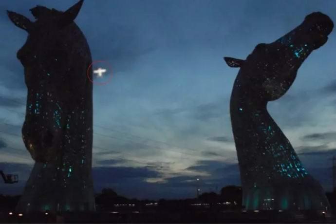 Шотландка сфотографировала странный НЛО