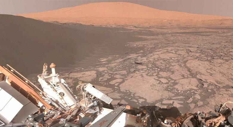 На Марсе, оказывается, можно найти даже череп великана