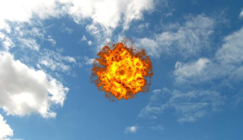 Необъяснимый огненный шар плясал в небе над Бакингемширом