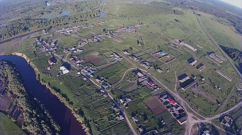 Аномалии сибирской деревни Окунево