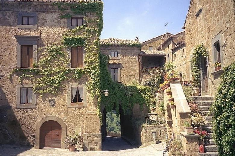 Древний город этрусков - Чивита ди Баньореджо