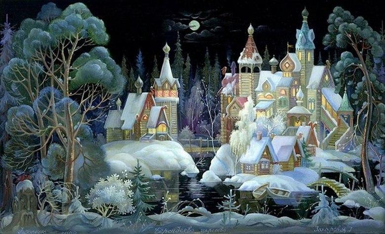 Удивительная родина волшебной Снегурочки