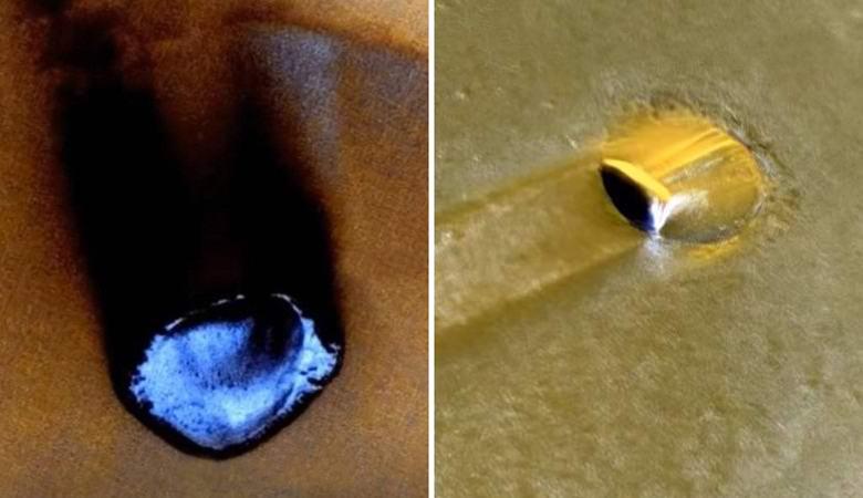 Уфологи обнаружили на Марсе загадочные объекты