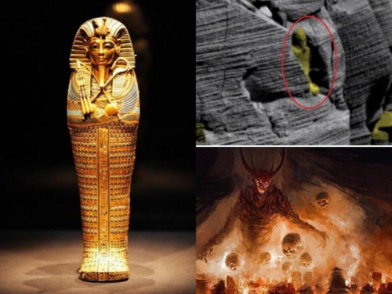 """«Гробница египетского фараона» на Марсе дополнила подобные находки виртуальных археологов"""" />"""