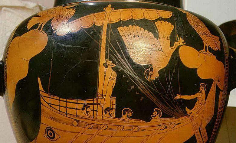 """На дне Черного моря обнаружили древнегреческий корабль"""" />"""