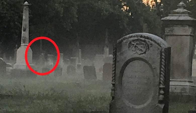 Американец снял на фотокамеру предполагаемый призрак