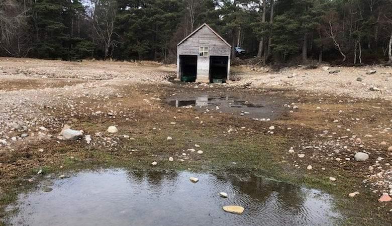 Загадка исчезающего шотландского озера