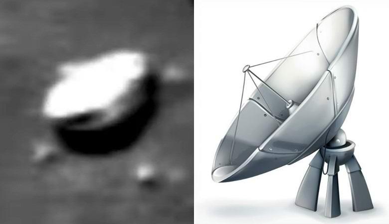 На снимке Луны заметили «параболическую антенну»
