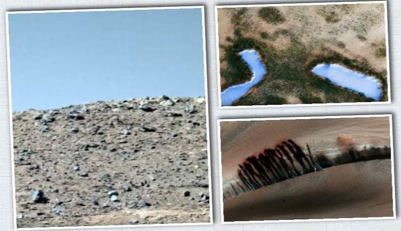 Уфологи показали «голубое небо, озера и леса» на Марсе