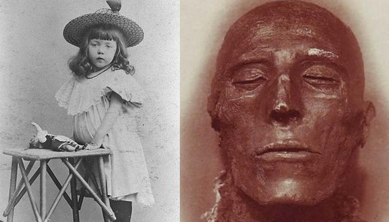 Ирландская девочка Дороти Иди - реинкарнация древнеегипетской жрицы