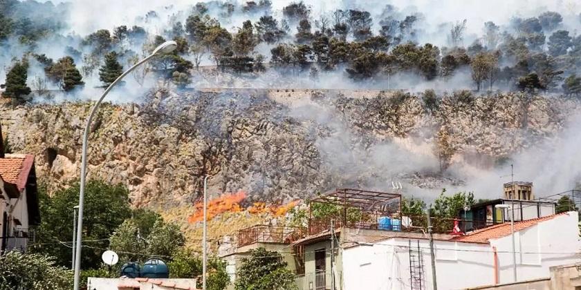 Загадочные пожары на итальянском острове Сицилия