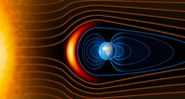 Магнитное поле Земли ослабевает и выводит из строя орбитальные спутники