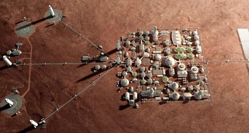 Для колонизации Марса придется изменить ДНК человека