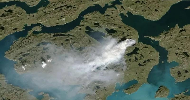 В Арктике очнулись «зомби-пожары»