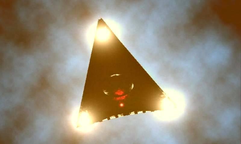 НЛО или загадочный самолет TR2B Astra пролетел над Техасом