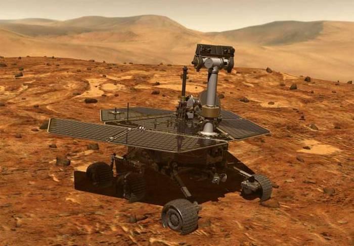 Spirit сфотографировал марсианскую базу
