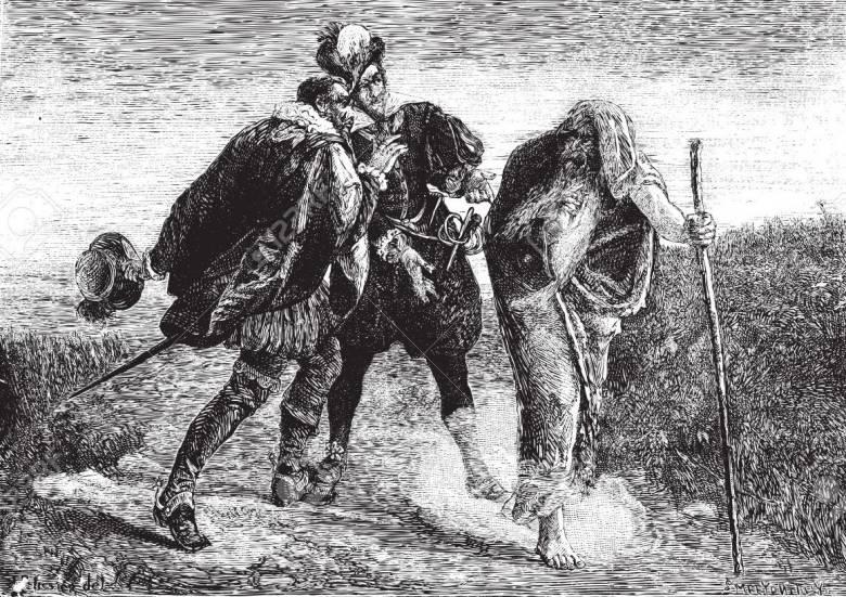 Агасфер - тот, кто ударил Христа