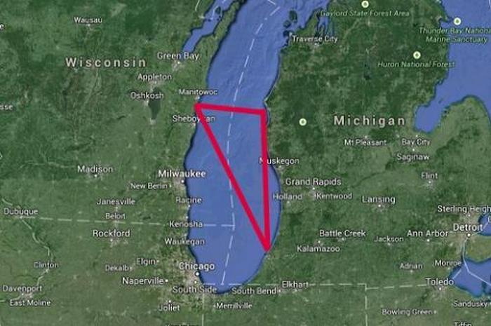 Таинственный Мичиганский треугольник (5 фото + видео)