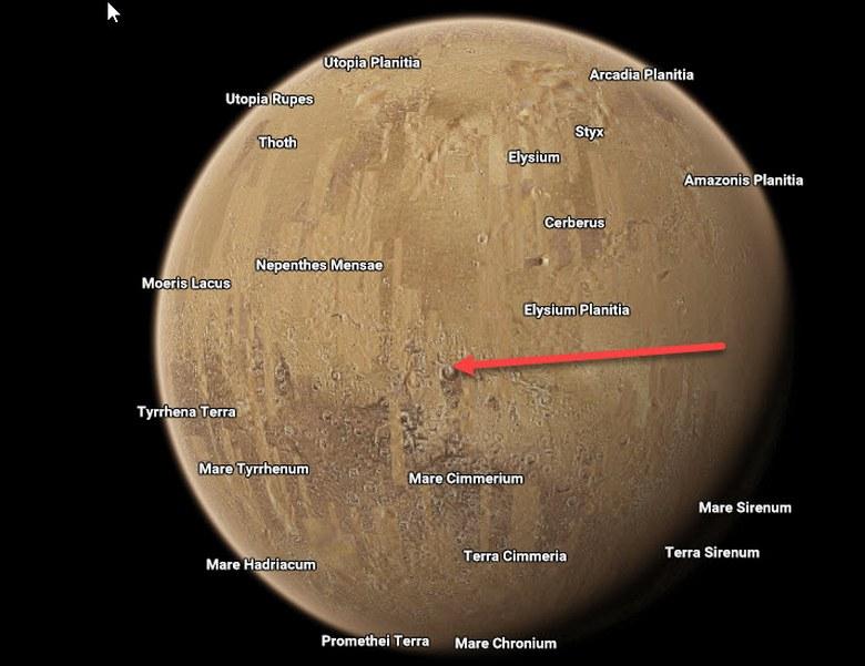 Google Space показал космическую базу на Марсе?