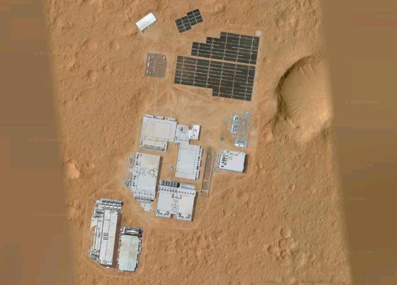 Google Space показал космическую базу на Марсе? (5 фото + видео)