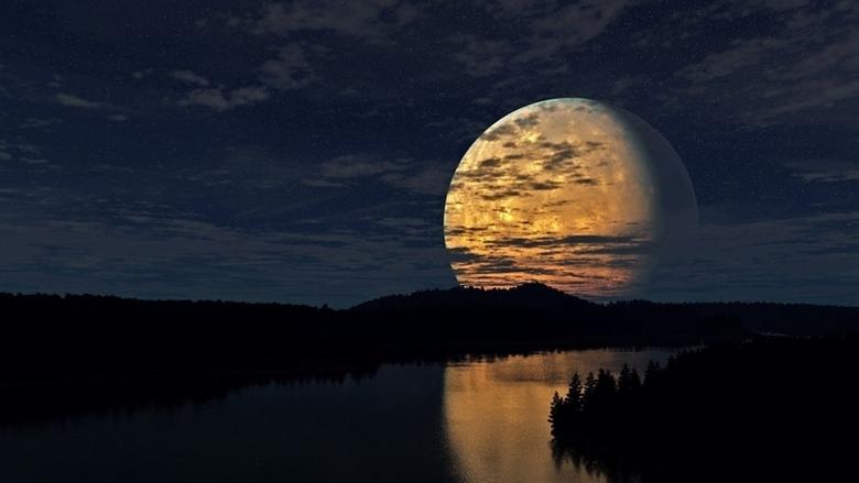 О продолжительности суток полтора миллиарда лет назад и о Луне, которой тогда не было