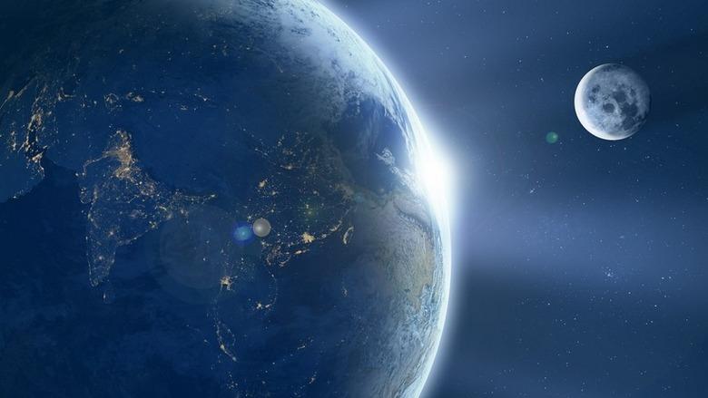 О продолжительности суток полтора миллиарда лет назад и о Луне, которой тогда не было (3 фото)
