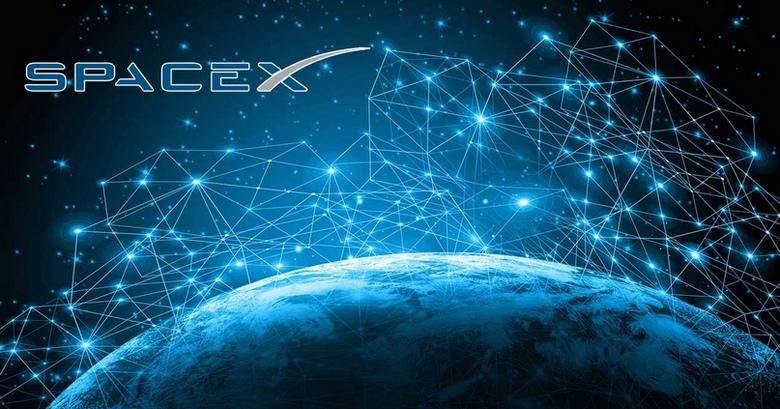 На низкую орбиту Земли успешно выведено 60 спутников Starlink компании SpaceX