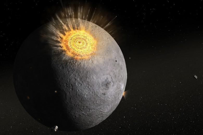 Ученые решили основательно изучить таинственные вспышки на Луне