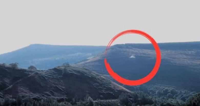 Дрон снял на видео пролетающий возле него НЛО