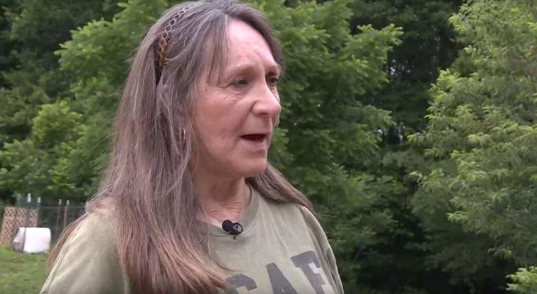 Женщина из Северной Каролины утверждает, что у нее на заднем дворе периодически появляются бигфуты