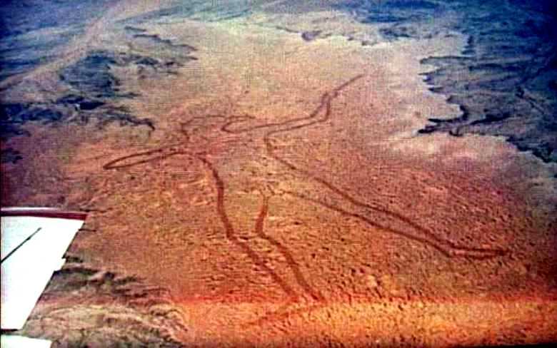 Марейский человек – геоглиф современного мира