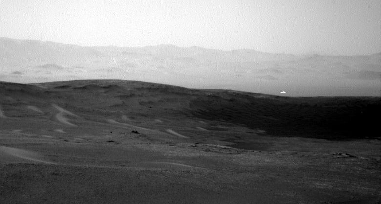 Почему на Марсе не замечают НЛО в форме диска?