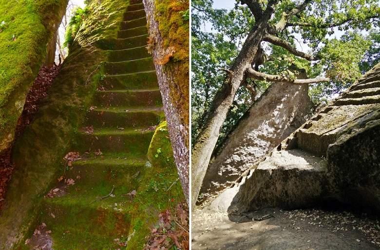 Загадочные лестницы, затерянные то ли во времени, то ли в пространстве