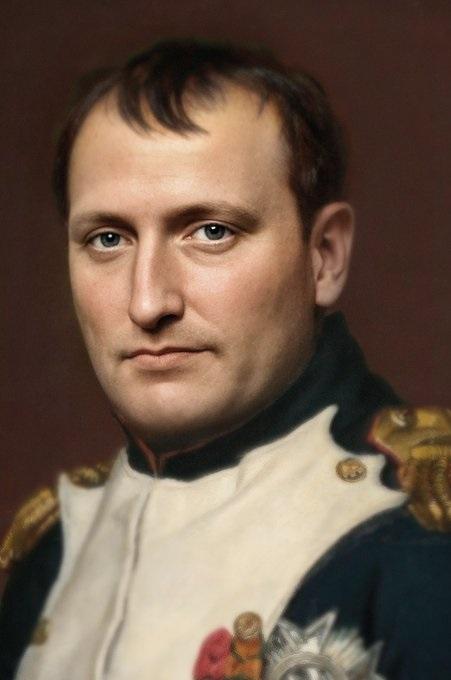 Лицо Наполеона воссоздали с фотографической точностью