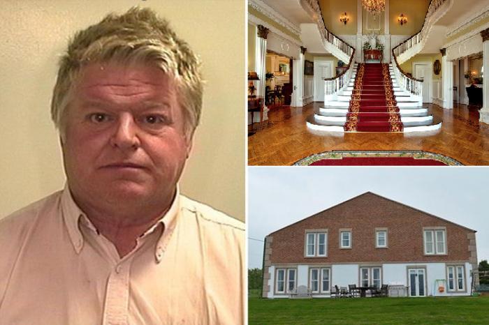 В Британии наткнулись на роскошный особняк, замаскированный за стенами сарая