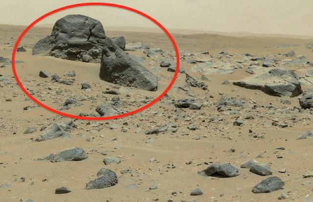 Древнюю пирамиду на Марсе обнаружил уфолог
