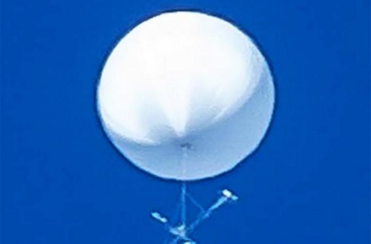 Белый шар в небе над Японией встревожил жителей