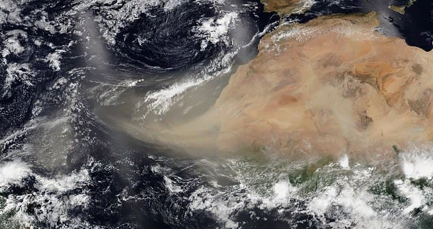 «Годзилла» из пустыни Сахара накрывает США