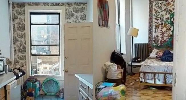Женщина считает, что заметила «призрака» во время виртуального осмотра квартиры