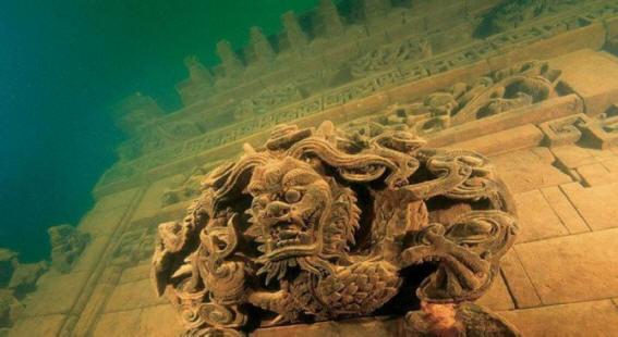 Пять древних подводных городов