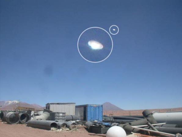 Ученые изучили снимки НЛО, сделанные чилийскими шахтерами