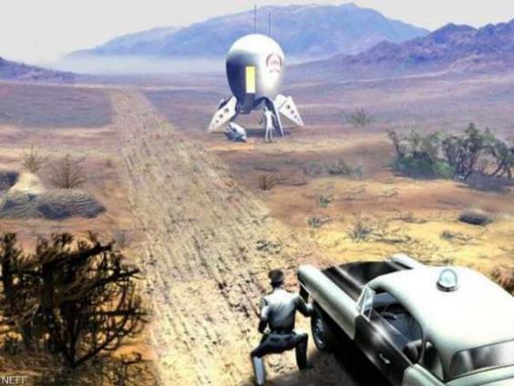 Случай с приземлившимся НЛО в городе Сокорро