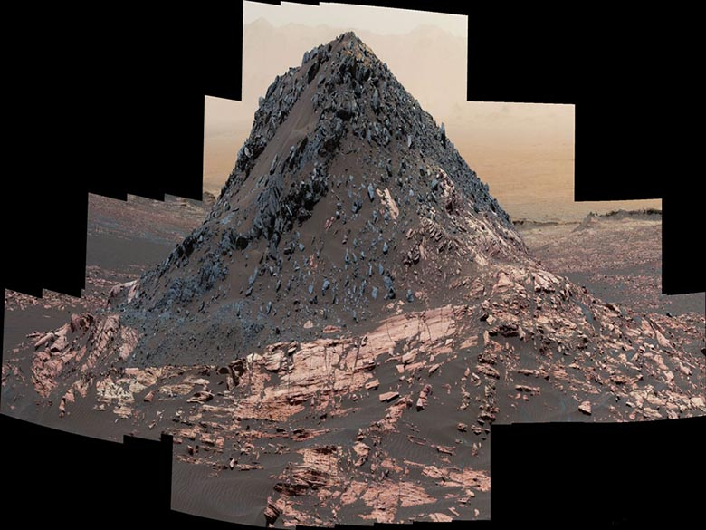 Фантастический марсианский холм Ireson и прочие загадки НАСА